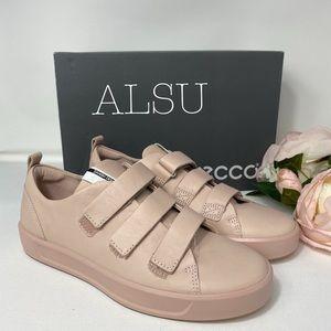 ECCO Soft 8 Ladies Strap Sneakers Rose Dust AUTHEN